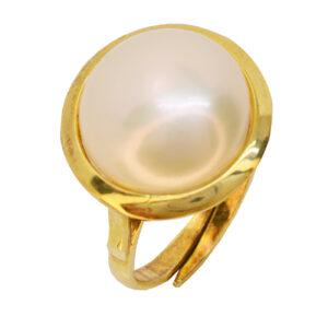 Μαργαριταρένιο δαχτυλίδι
