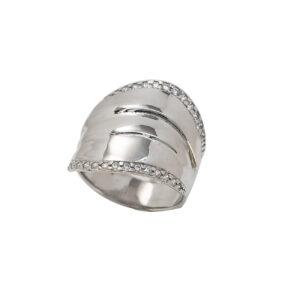 Ασημένιο δαχτυλίδι με ζιργκόν
