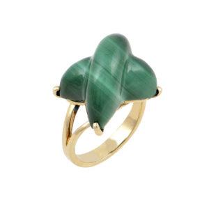 Δαχτυλίδι με ορυκτές πέτρες