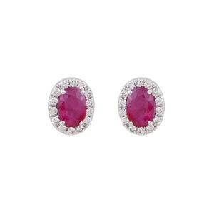 Ζεύγος σκουλαρίκια ροζέτες