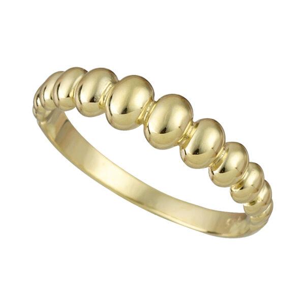 Χρυσό δαχτυλίδι Οβάλ Ντεγκραντέ