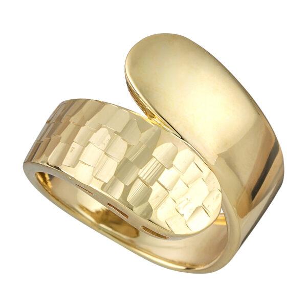Χρυσό δαχτυλίδι Κρουαζέ