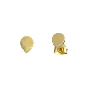 Χρυσά σκουλαρίκια Μικρές Σταγόνες