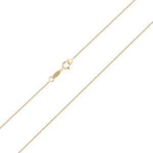 Χρυσή Αλυσίδα λαιμού Veneziana (box) 14 καρατίων. Μια ιδανική επιλογή για σταυρούς και μενταγιόν.