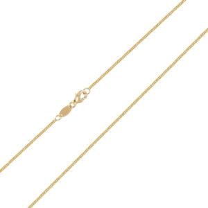 Χρυσή αλυσίδα λαιμού Gourmet (κουρμέτ) 14 καρατίων. Ιδανική αλυσίδα για όλους τους σταυρούς και μενταγιόν.